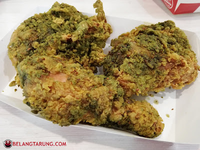 Green Chili Chicken Crunch KFC