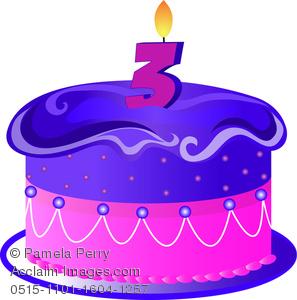 Clipart Birthday Cakes For Invitations Boys