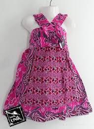 Model Baju Batik Modern Untuk Anak Perempuan Terbaru