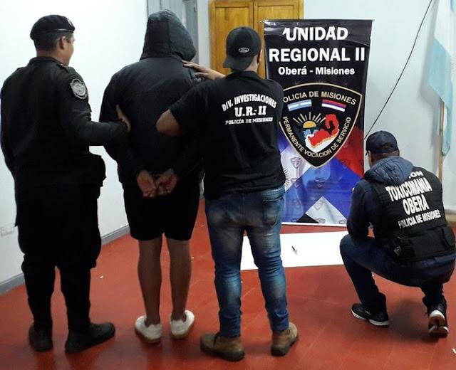 Campo Viera - Caso Danyluk: La Policía capturó a un sospechoso cuando intentaba fugarse a Buenos Aires