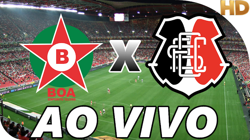 Assistir Boa Esporte Clube x Santa Cruz Ao Vivo