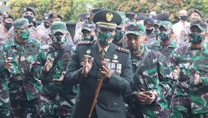 Waduh!! Tiba-tiba Dandim 0503/JB Bersama Jajaran Sambangi Mapolres Jakarta Barat?