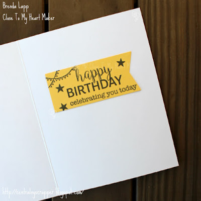 Emma's birthday card - Stamptacular Blog Hop