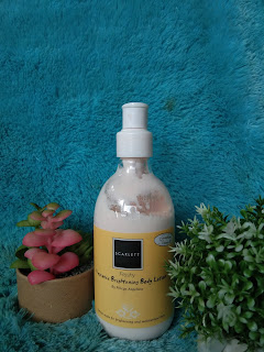 Scarlett Whitening Body Lotion Freshy