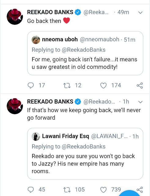 Check Out Reekado Banks' Epic Response To Fan Who Wants Him Back In Mavin