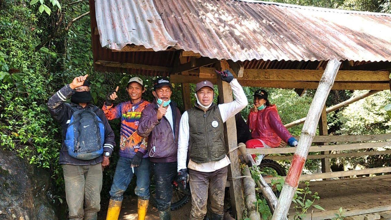 Pengojek Naik Seko Ingin Thahar-Rahmat Bupati Luwu Utara