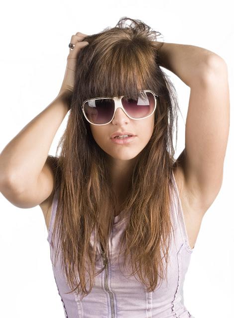 Damaged hair women