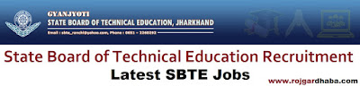 sbte-state-board-technical-education-jharkhand-jobs