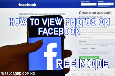 How To View Photos On Facebook Free Mode