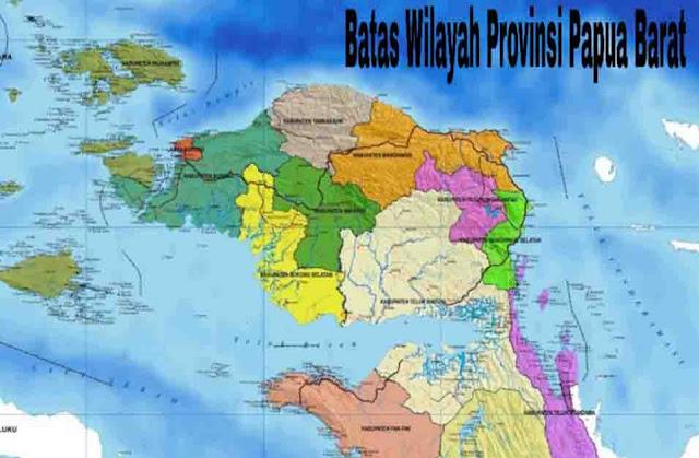 Batas Wilayah Papua Barat