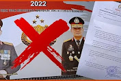 Gambar Kapolri Dicatut Untuk Kalender, Kabidhumas : Masyarakat Agar Tak Layani Penjualan Kalender 2022