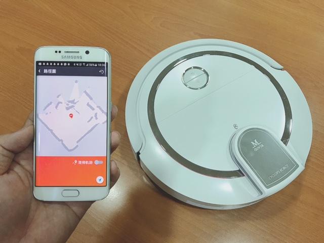 Mdovia R360 掃地機器人:小米殺手登場,雷射測距路徑規劃、App 定製清掃手繪虛擬牆