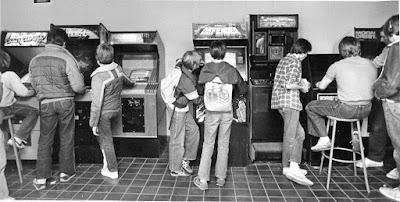Salones de máquinas recreativas de los 80
