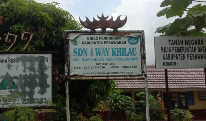 Ditanya Soal Dana Bos Marah, LSM BPPI DPW Lampung Pertanyakan Kredibilitas Kepala SDN 4 Way Khilau