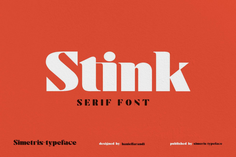 Stink Font
