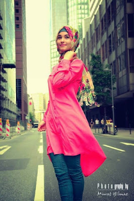 trend model hijab anak kuliahan