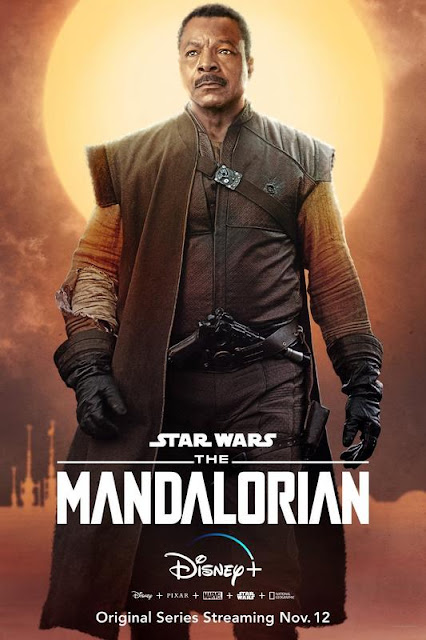 Póster 'The Mandalorian'. Carl Weathers