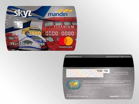 Berapa Limit Kartu Kredit Mandiri Skyz