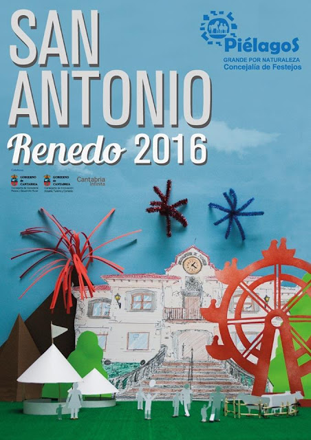 Fiestas de San Antonio en Renedo 2016