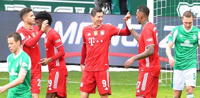 Werder Bremen vs Bayern München – Highlights