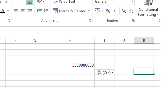 how to change number format thousands million excel table