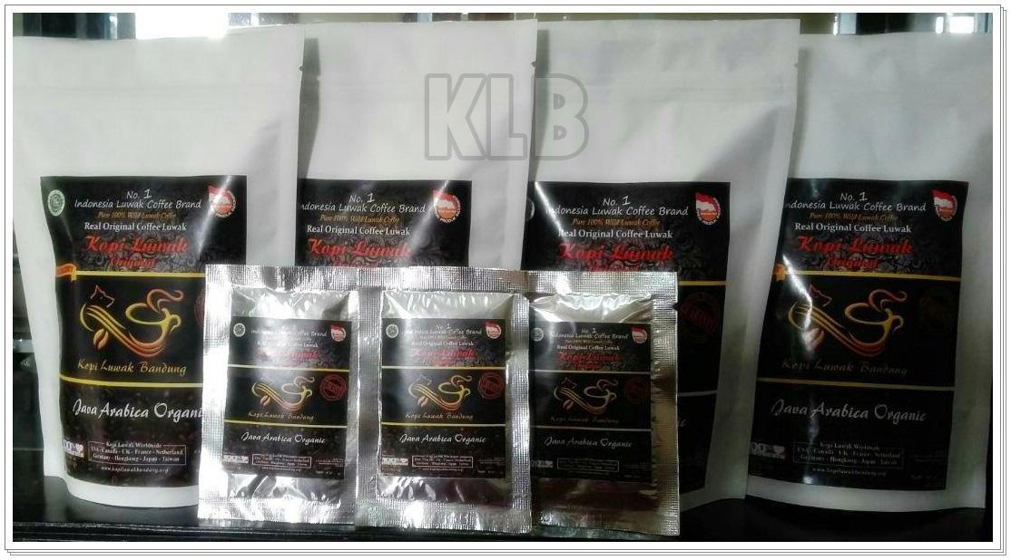 Kopi Luwak Bubuk 100 GR Isi 10 Sachet Original Luwak Coffee