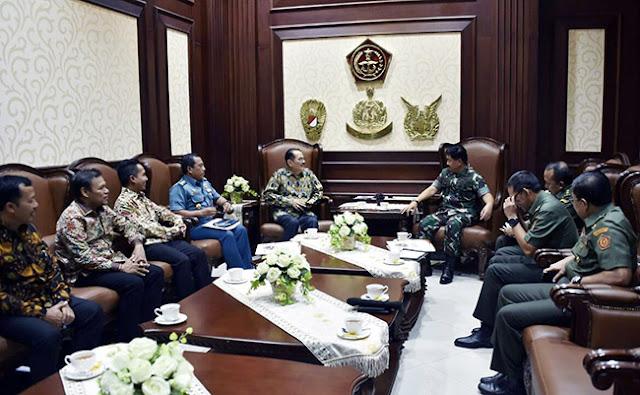 Executive Steering Commitee IVCA Lakukan Audiensi Bersama Panglima TNI