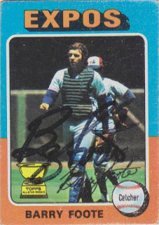 1975 Topps, Barry Foote