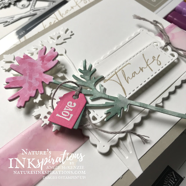 By Angie McKenzie for Bruno and Kylie Bertucci's Demonstrator Training Program Blog Hop; Click READ or VISIT to go to my blog for details! Featuring the Quiet Meadow Bundle, Scalloped Contours  Dies, and coloring techniques with ink and Stampin' Blends; #stampinup #handmadecards #naturesinkspirations #thankyoucards #coloringvellumwithblendsandrubbingalcohol #diecutting #cardtechniques #stampinupdemo #quietmeadowstampset #meadowdies #quietmeadowbundle #scallopedcontoursdies #handpennedpetalsstampset #stationerybyangie #brunoandkyliesdemonstratortrainingprogrambloghop #stampingtechniques #makingotherssmileonecreationatatime
