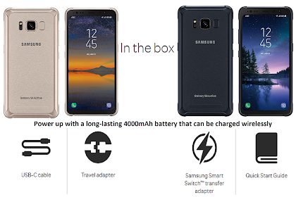 Galaxy S8 Active Unboxing Features to Pre-Order