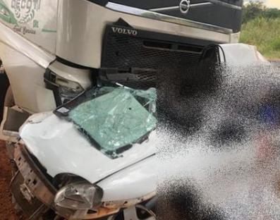 Dois moradores de Severínia morrem em acidente em Olímpia