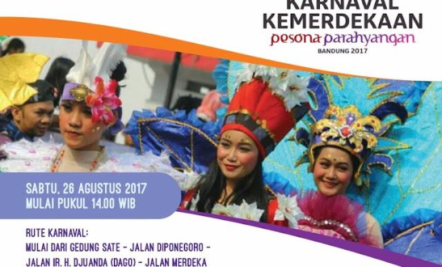 Karnaval Kemerdekaan Pesona Parahyangan 2017