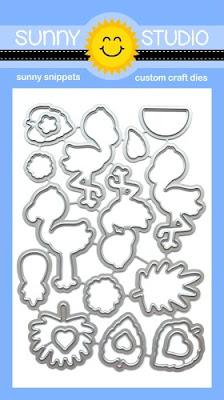 Sunny Studio Stamps: Fabulous Flamingos Low Profile Metal Cutting Dies