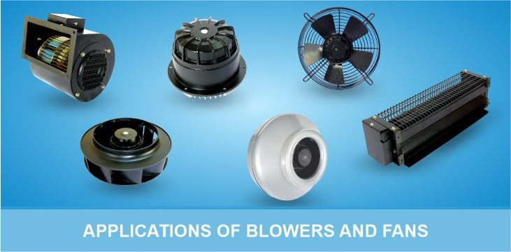 Applications of Blowers and Fans - Hetal Industries