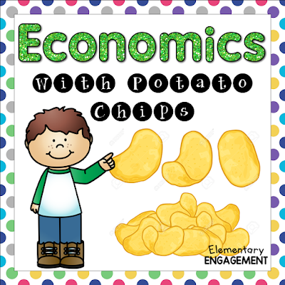 This is a great lesson!  Your students will love using potato chips to practice economics concepts.