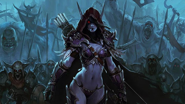 lady sylvanas windrunner wallpaper 10