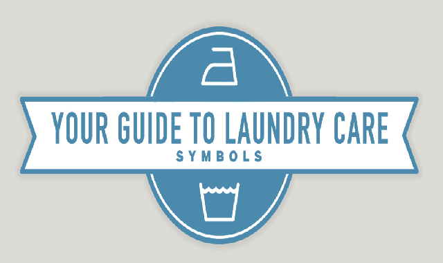 Your Guide to Laundry Care Symbols #infographic