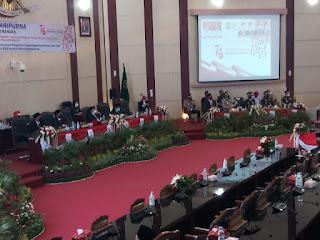DPRD Medan Gelar Rapat Paripurna HUT RI
