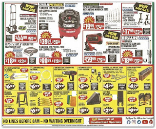Black Friday Ad Harbor Freight Tools 2019 deals