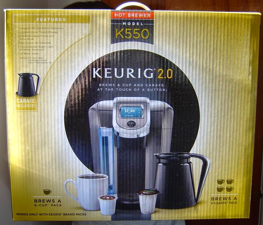 Keurig 2.0 K550 Brewing System in box