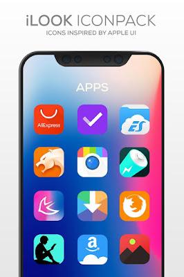 تطبيق iLOOK مدفوع لتغيير شكل هاتفك الأندرويد إلى واجهة آيفون