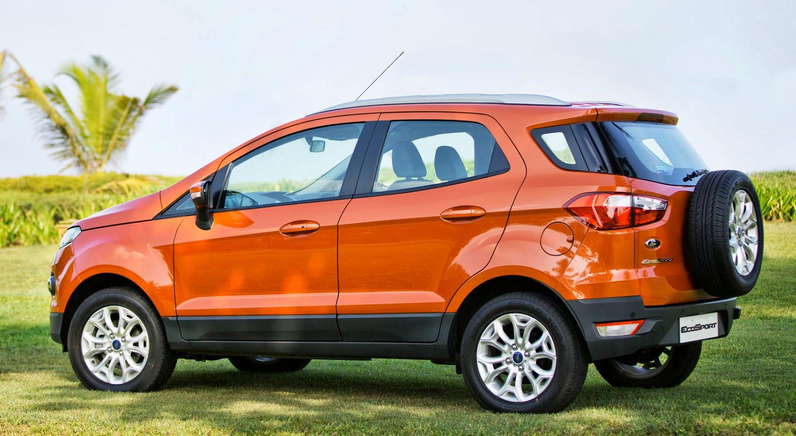 Ford Ecosport melhor suv do Brasil