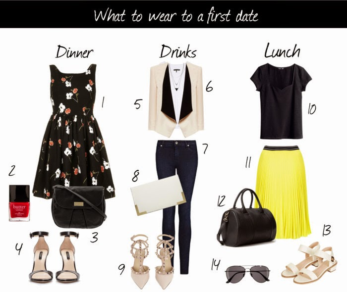 what to wear on a first date for movies