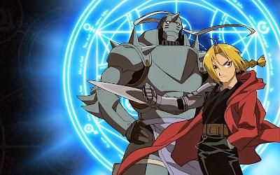 Edward Elric - Alphonse Elric  (Fullmetal Alchemist)