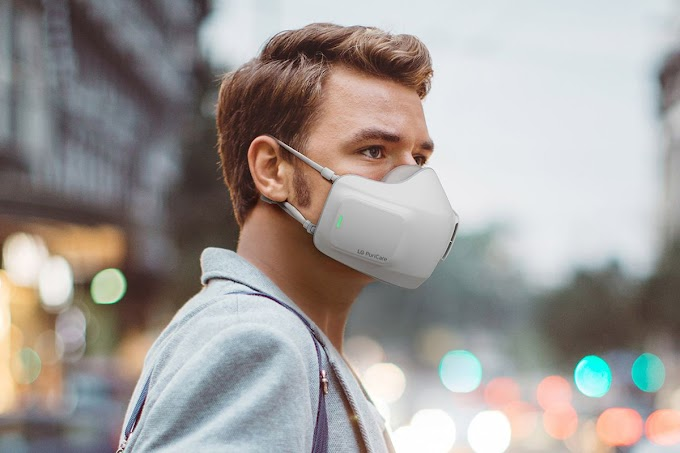 New Battery Operated Surgical Mask Invented For Relief And Coronavirus