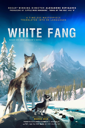 Poster Of White Fang In Dual Audio Hindi English 300MB Compressed Small Size Pc Movie Free Download Only At worldfree4u.com