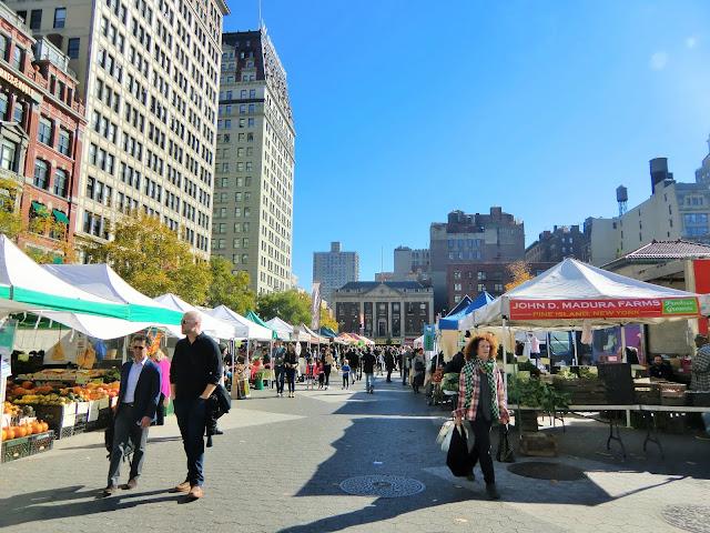 Green market - Union Square - New-York