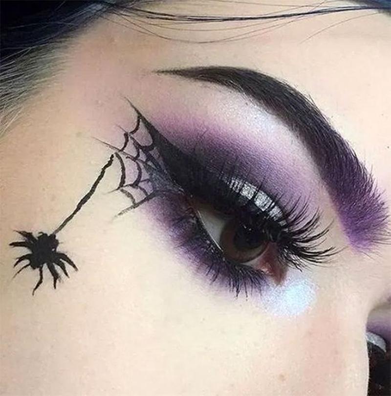 Maquiagem de bruxa fácil