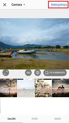 cara upload foto ke instagram melalui hp