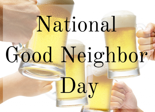National Neighbor Day Wishes Sweet Images